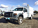 2008 Ford F450 4x4 Enclosed Service Truck