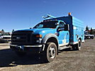 2008 Ford F450 4x4 High Top Service Truck