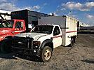 2008 Ford F550 4x4 Chipper Dump Truck