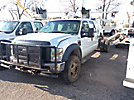 2008 Ford F550 4x4 Crew-Cab Chassis