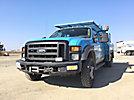 2008 Ford F550 4x4 Crew-Cab Service Truck