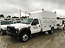 2008 Ford F550 4x4 Enclosed High-Top Service Truck