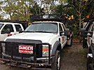2008 Ford F550 4x4 Flatbed Truck
