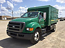 2008 Ford F650 Chipper Dump Truck