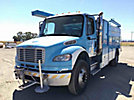 2008 Freightliner M2 106 Air Compressor/Enclosed Utility Truck,