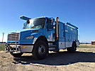 2008 Freightliner M2 106 Air Compressor/Enclosed Utility Truck