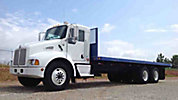 2008 Kenworth T300 T/A Flatbed Truck