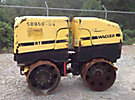 2008 Wacker RT82SC2 Articulating Trench Compactor, s/n 5803779, lombardini diesel with remote. (Reads 471hrs)