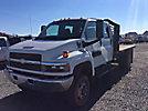2009 Chevrolet C4500 4X4 Crew-Cab Flatbed Truck