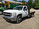 2009 Chevrolet K3500HD 4x4 Flatbed Truck