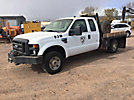 2009 Ford F250 4x4 Extended-Cab Flatbed Truck