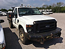 2009 Ford F350 4x4 Flatbed Truck