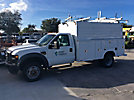 2009 Ford F550 4x4 Enclosed High-Top Service Truck