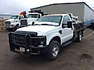 2009 Ford F550 4x4 Flatbed Truck