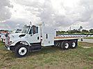 2009 International 7400 T/A Flatbed Truck