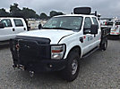 2010 Ford F350 4x4 Crew-Cab Flatbed Truck