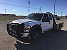 2010 Ford F550 Extended-Cab Flatbed Truck