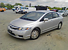 2010 Honda Civic Hybrid 4-Door Sedan