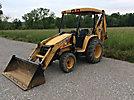 2011 John Deere 110 4x4 Mini Tractor Loader Backhoe