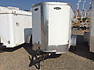 2012 Arin/Leonard 10' S/A Enclosed Utility Trailer