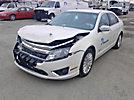 2012 Ford Fusion Hybrid 4-Door Sedan