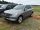 2012 Mercedes Benz ML350 4-Door Sport Utility Vehicle