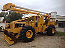 Aerial Lift of CT AL50-5-1L-4H, Over-Center Bucket Truck, rear mounted on Timberjack 240E 4x4 Articulating Log Skidder