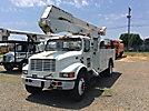 Altec A50, Over-Center Material Handling Bucket Truck, center mounted on, 2000 International 4600 LP Utility Truck