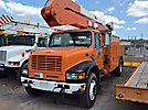 Altec A50-OC, Material Handling Bucket Truck, 2000 International 4700 Utility Truck