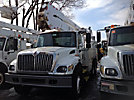 Altec A50-OC, Material Handling Bucket Truck, rear mounted on, 2003 International 7300 T/A Utility Truck