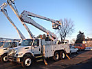 Altec A50-OC, Material Handling Bucket Truck, rear mounted on, 2003 International 7400 T/A Utility Truck