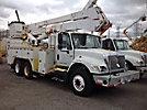 Altec A50-OC, Material Handling Bucket Truck, rear mounted on, 2003 International 7400 T/A Utility Truck