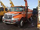 Altec A50-OC, Material Handling Bucket Truck rear mounted on 2003 International 4400 Utility Truck