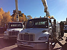 Altec A50E-OC, Material Handling Bucket Truck center mounted on 2007 Freightliner M2 106 Utility Truck