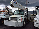 Altec A50E-OC, Material Handling Bucket Truck rear mounted on 2007 Freightliner M2 106 Utility Truck
