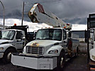 Altec A50E-OC, Material Handling Bucket Truck rear mounted on 2008 Freightliner M2 106 Utility Truck
