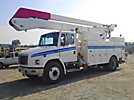 Altec A55-OC, Material Handling Bucket Truck, rear mounted on, 2002 Freightliner FL70 Utility Truck