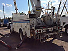 Altec A55-OC, Material Handling Bucket Truck, rear mounted on, 2004 Freightliner M2 106 Utility Truck