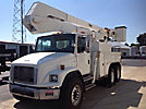 Altec A55-OC, Material Handling Bucket Truck rear mounted on 2001 Freightliner FL80 T/A Utility Truck