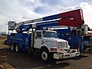 Altec A65-MH, Material Handling Bucket Truck, rear mounted on, 2002 International 4900 T/A Utility Truck