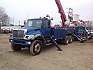 Altec A77T, Articulating & Telescopic Material Handling Bucket Truck rear mounted on 2005 International 7400 6x6 Utility Truck