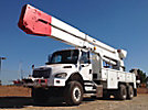 Altec A77T, Articulating & Telescopic Material Handling Bucket Truck rear mounted on 2007 Freightliner M2-106 6X6 Utility Truck