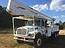 Altec A77T, Material Handling Bucket Truck rear mounted on 2003 International 7400 T/A Utility Truck