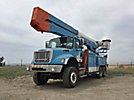 Altec A77T-E93, Articulating & Telescopic Elevator Bucket Truck, rear mounted on, 2006 Freightliner M2 112 6x6 Utility Truck, PTO reads 995 (hours) no manuals