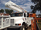 Altec AA500, Bucket Truck, rear mounted on, 1991 International 4800 4x4 Utility Truck, no bucket - guard structure only, non insulated