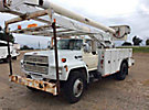 Altec AA600, Bucket Truck, rear mounted on, 1990 Ford F700 Utility Truck