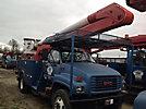 Altec AA600, Bucket Truck, rear mounted on, 2001 GMC C7500 Utility Truck