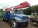Altec AA600, Bucket Truck, rear mounted on, 2001 International 4700 Utility Truck