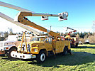 Altec AA600-P, Bucket Truck, rear mounted on, 1985 Ford F700 Utility Truck