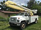Altec AA600-P, Bucket Truck rear mounted on 1992 GMC Topkick Utility Truck